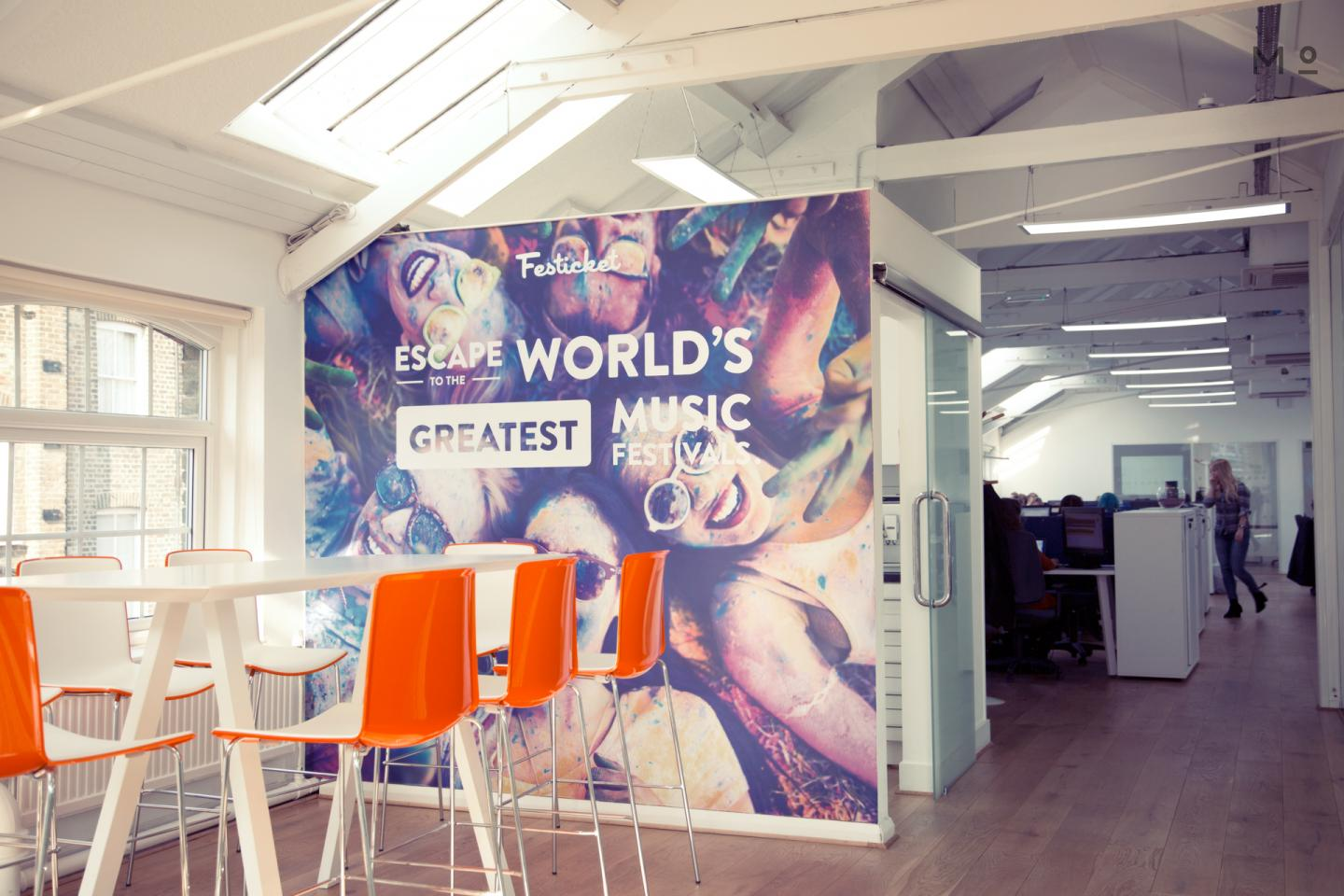 Festicket London Digital Designer Internship 5