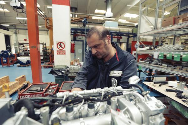 C.m.d. Spa Atella Ingegnere Meccanico banco prova 3