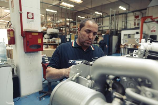 C.m.d. Spa Atella Ingegnere Meccanico banco prova 5